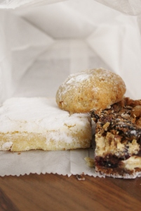 Lemon bar, Walnut Melt and Magic Cookie Bar