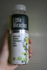 Review: Little Miracles organic energy green tea pomegranate