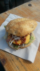 Grill'nSmoke Pulled Pork Cheeseburger