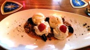 Candybar coupe, Dessert Hudson