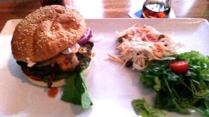 Famous Hudson burger