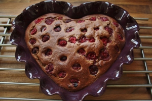 Inspiration: Raspberry Banana bread