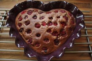 Inspiration: Raspberry Banana bread