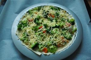Recipe: Broccoli quiche