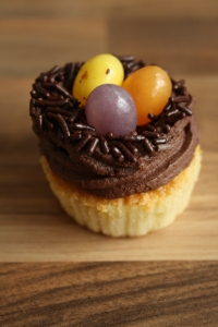 Recipe: Cute Easter Bird nest Cupcakes
